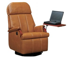 Lambright Comfort Chairs | Lazy Relax R Swivel Wall Hugger Recliner  LRSWHR T26