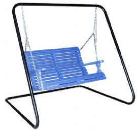 C Coast Ridgecrest Metal Outdoor Porch Swing And Stand