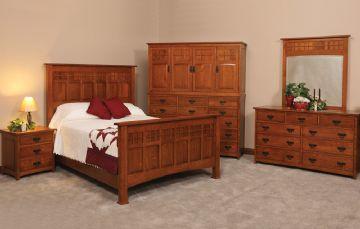 Shady Hill Holz | Royal Santa Fe Bedroom Collection